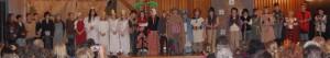Gruppenfoto Aufführung Weihnachtsfeier 2014